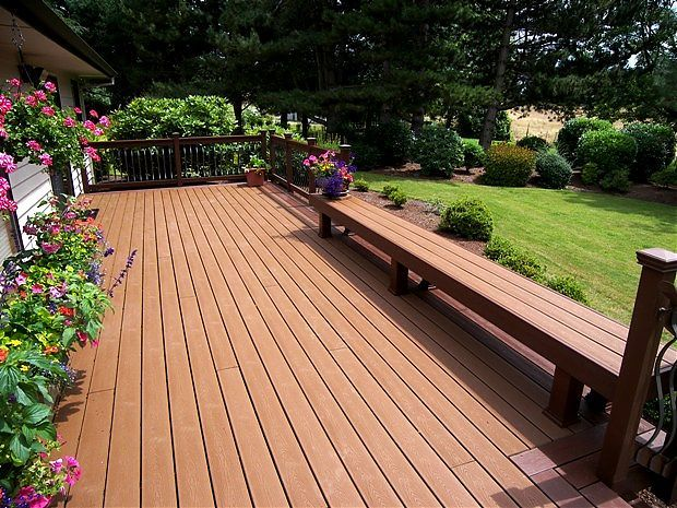 Perfect #Cedar Handrails And Post Wraps Complement This Beautiful Trex Transcend  #deck, Aumsville,