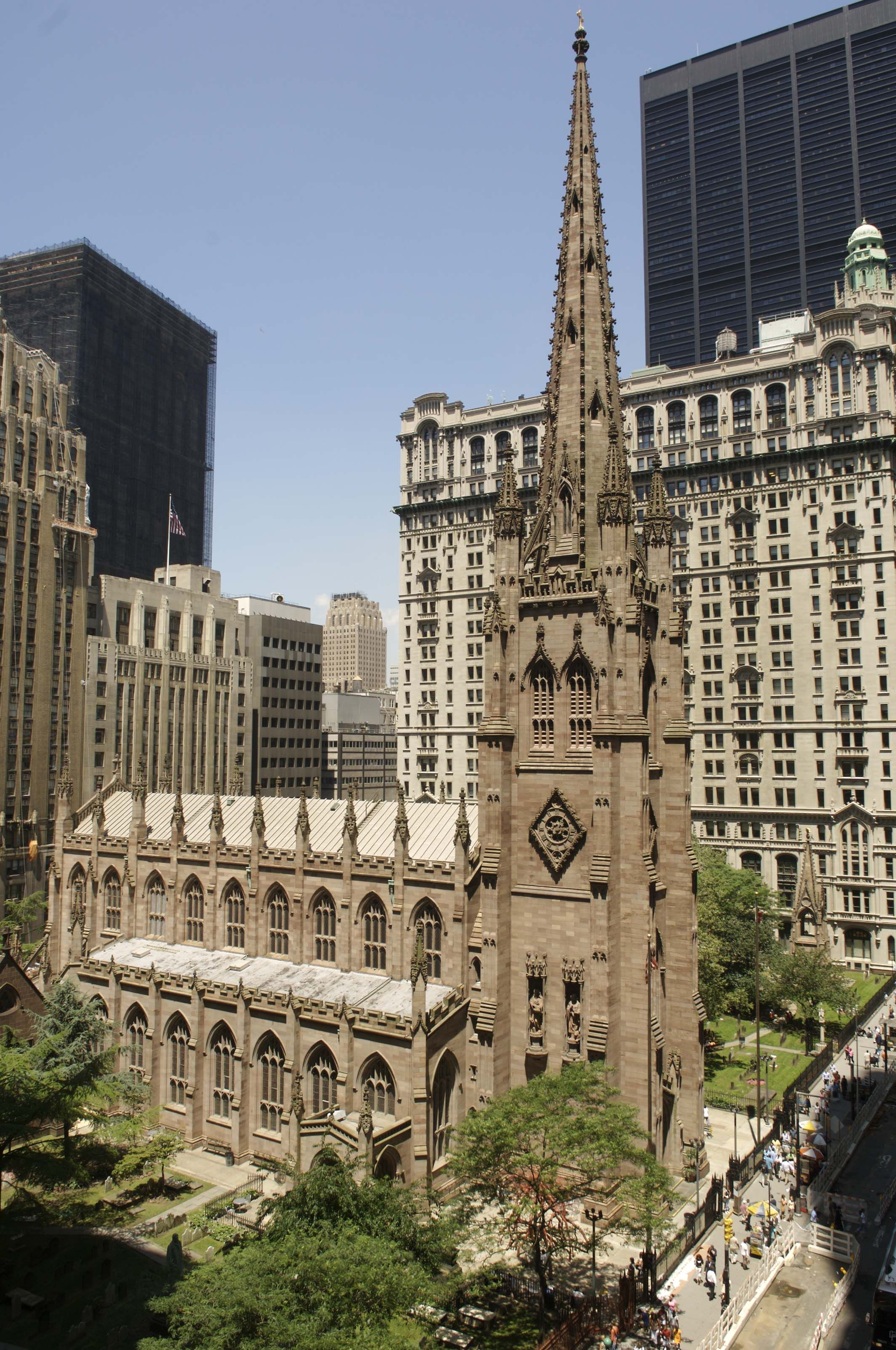 Behind The Scenes At Trinity Church S 112m Historic Restoration 6sqft New York City Pictures New York City City Pictures