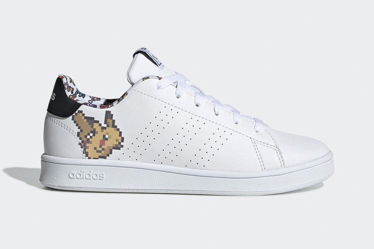 8-Bit Pikachu Pokémon x adidas Advantage Rumor
