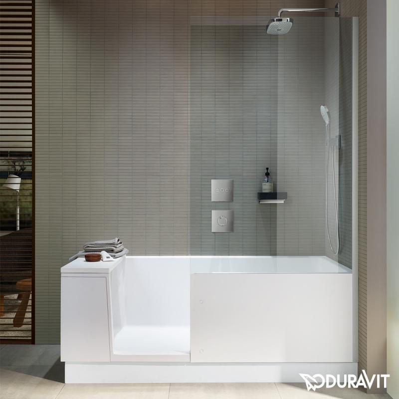 Duravit Shower + Bath Die Badewannne mit Duschzone
