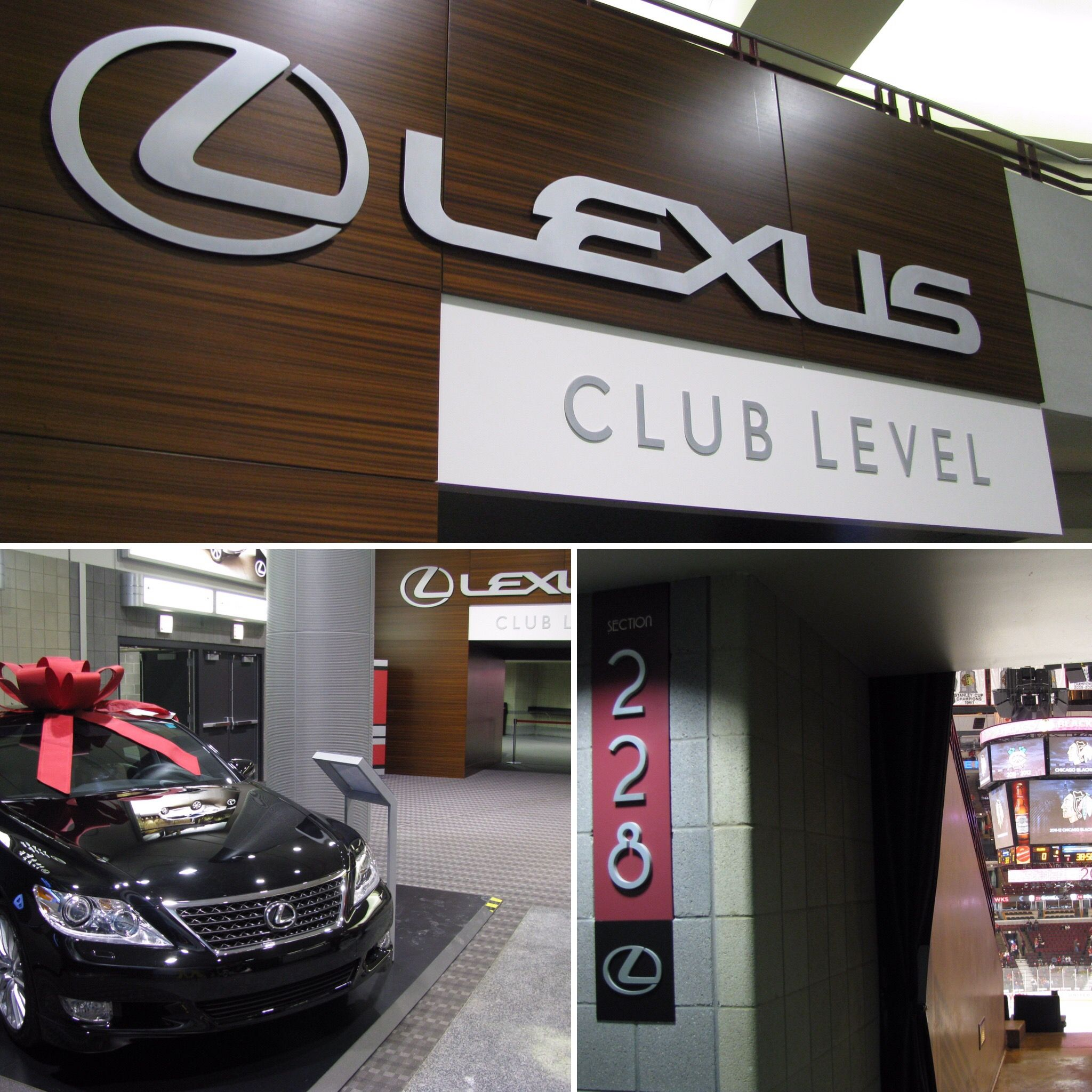 Lexus Club Level at the United Center, #Chicago (taken back in 2012