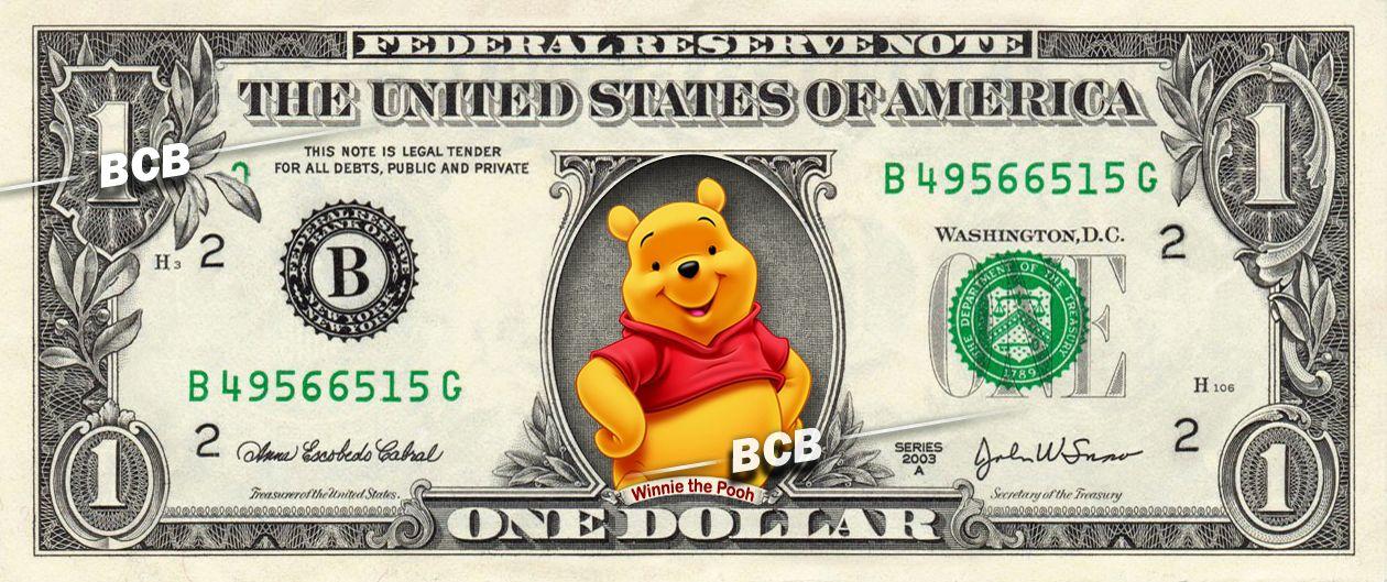FREE SLEEVE Betty Boop Million Dollar Bill Fake Play Funny Money Novelty Note