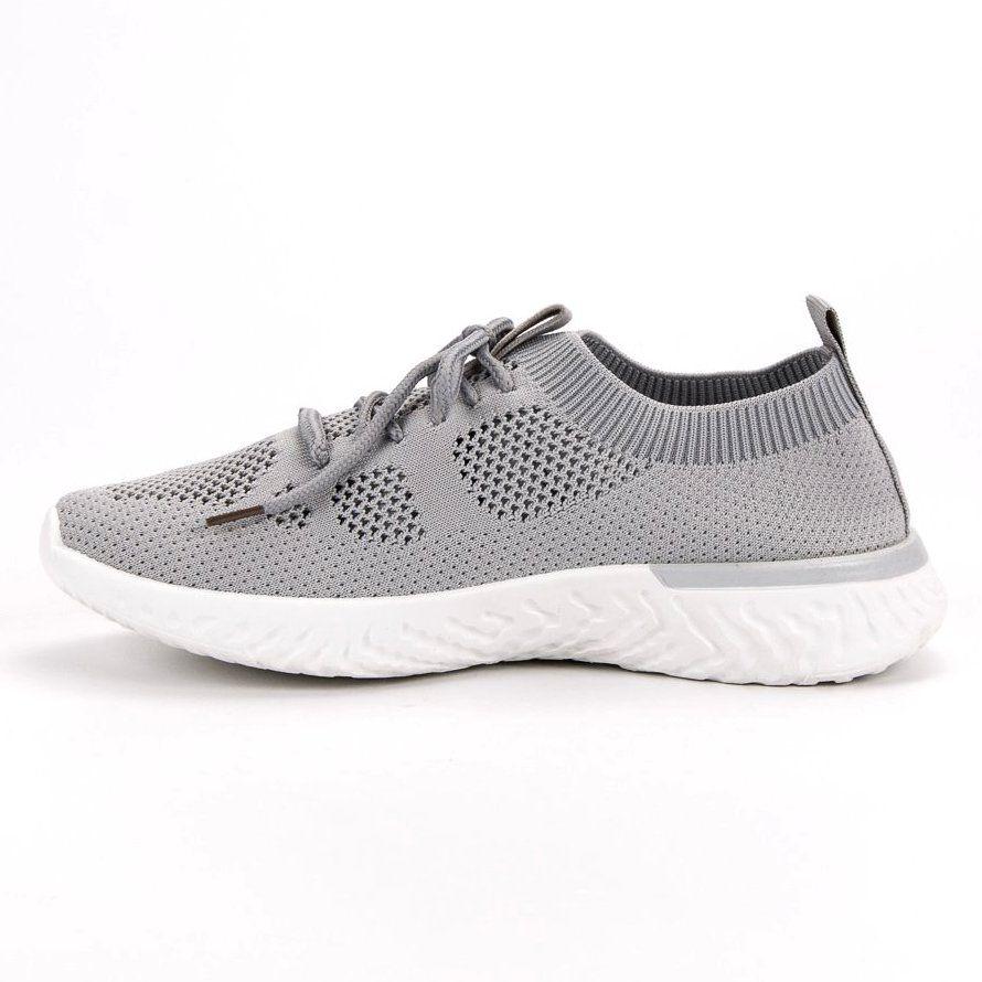 Przewiewne Buty Sportowe Szare Sneakers Nike Nike Free Shoes