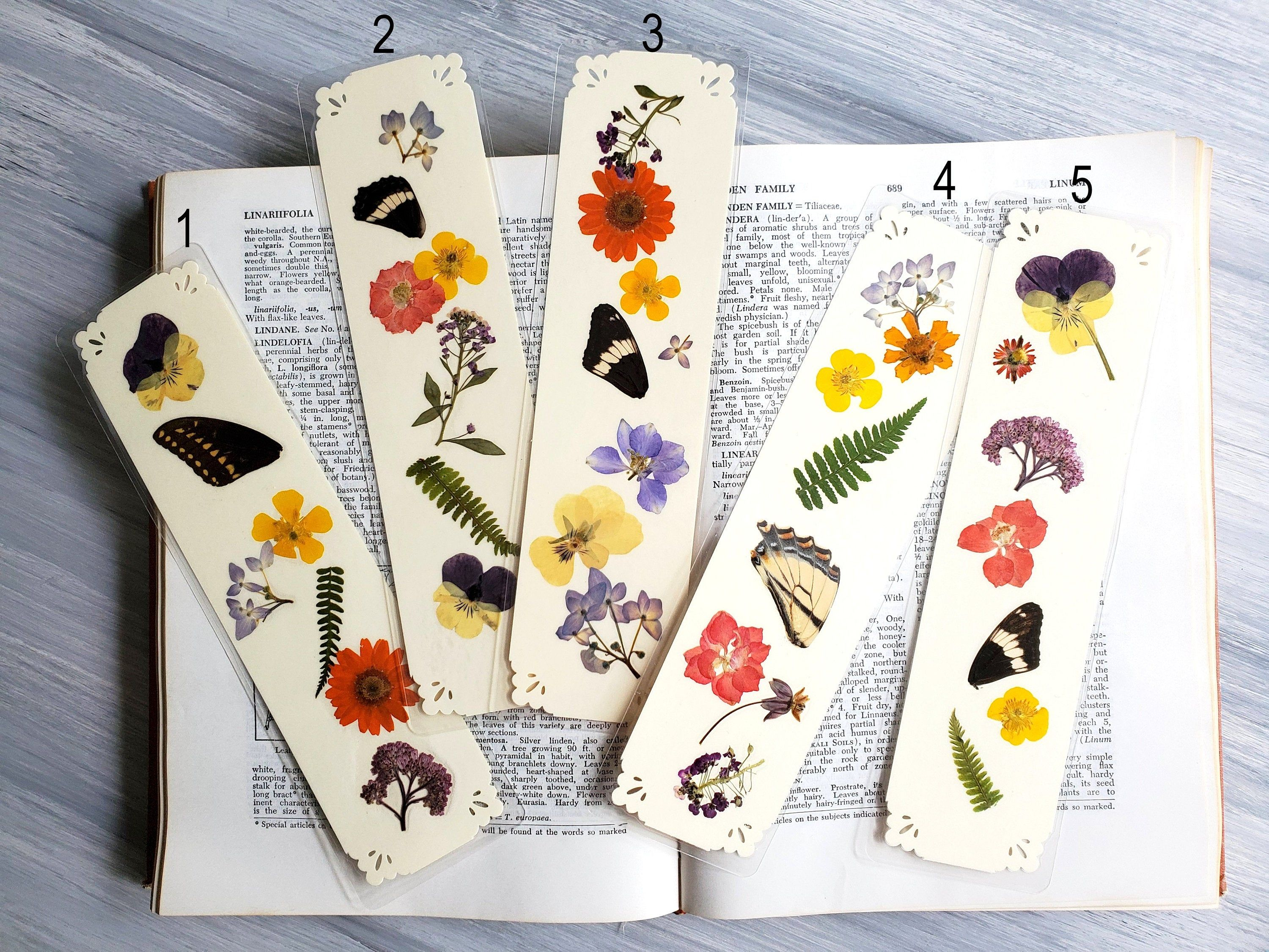 Hand Painted Cards Teacher Gift Stationery Gift Set Card and Bookmark Set Handmade Bookmark Feather Stationery Blank Cards
