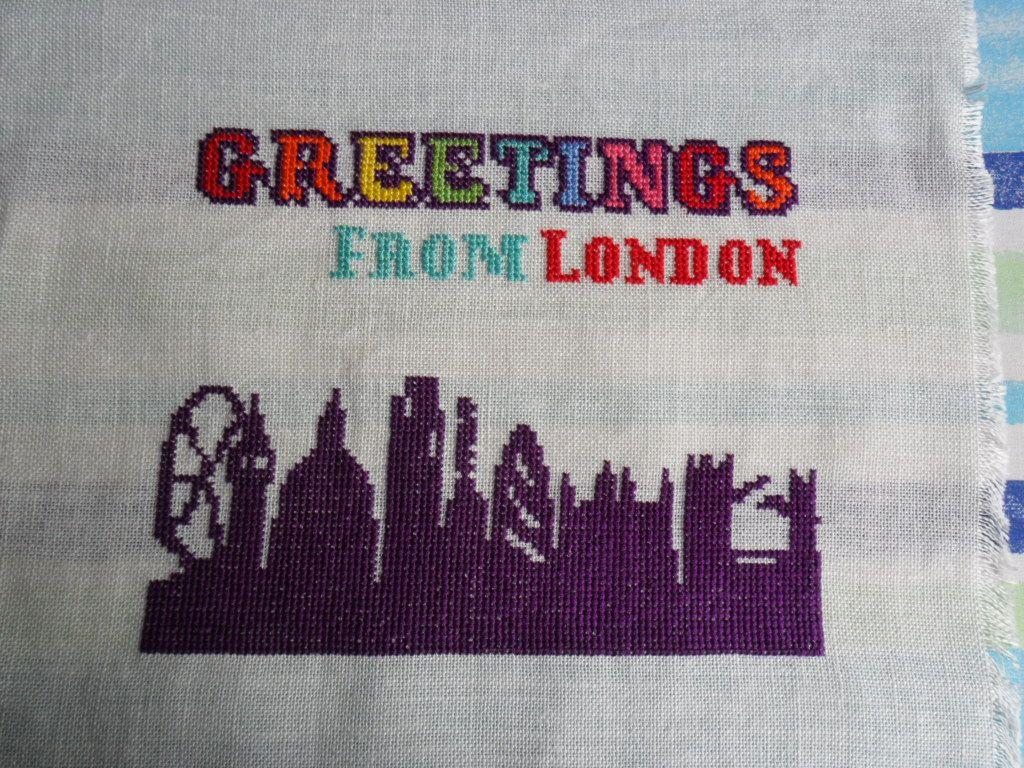 Greetings from London Handwerk, Haken, Breien