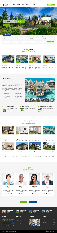WS Estate is Premium full Responsive Retina Parallax HTML5 ...
