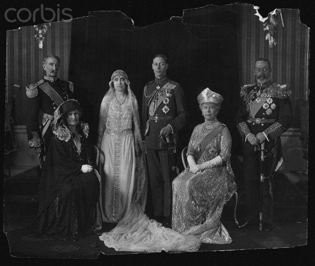 Wedding of Duke and Duchess of York. April 24, 1924