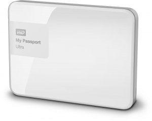 WD My Passport Ultra 2 Tt USB 3.0 -kovalevy, valkoinen