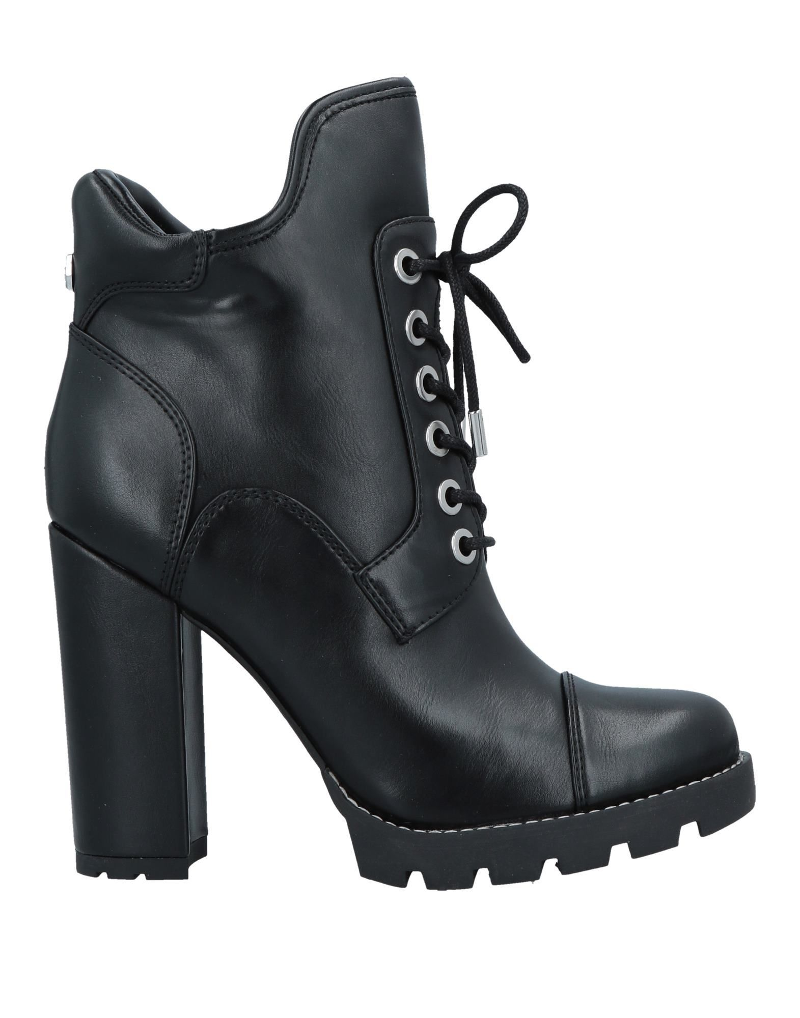 Guess Ankle Boot In Black Modesens Boots Black Ankle Boots Ankle Boot