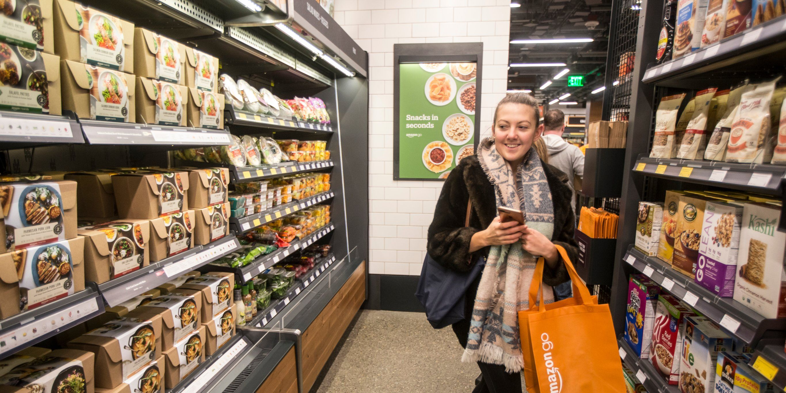 Other Retailers Are Worried About The Success Of Amazon Go Grocery Amazon Grocery Store