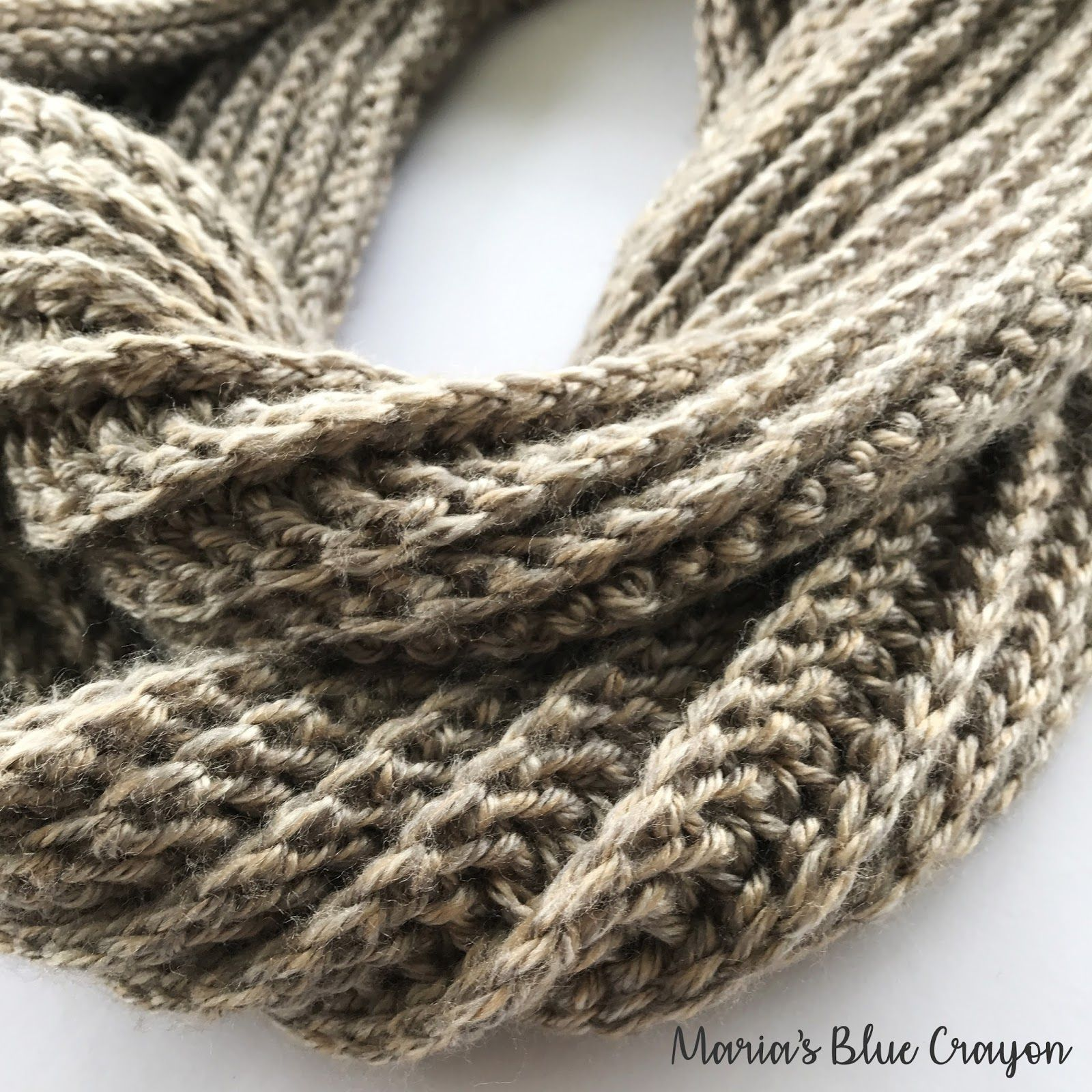 Aspen Infinity Scarf Crochet Pattern | Pinterest