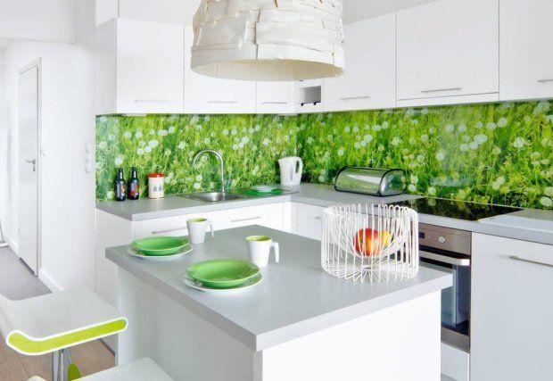 Zielone Dodatki Do Kuchni Do Domu Kuchnia I Jadalnia Pinterest