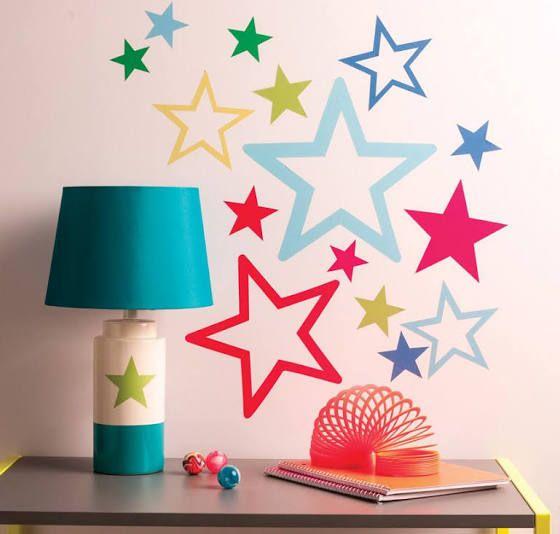 wall star decoration