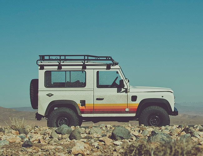These Beautifully Restored Mid-Nineties Defenders Overland Through Northern Africa the Right Way