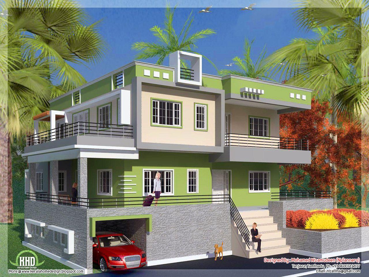 50 Desain Rumah Minimalis 2 Lantai Modern Terbaru House Exterior House Designs Exterior House Front Wall Design
