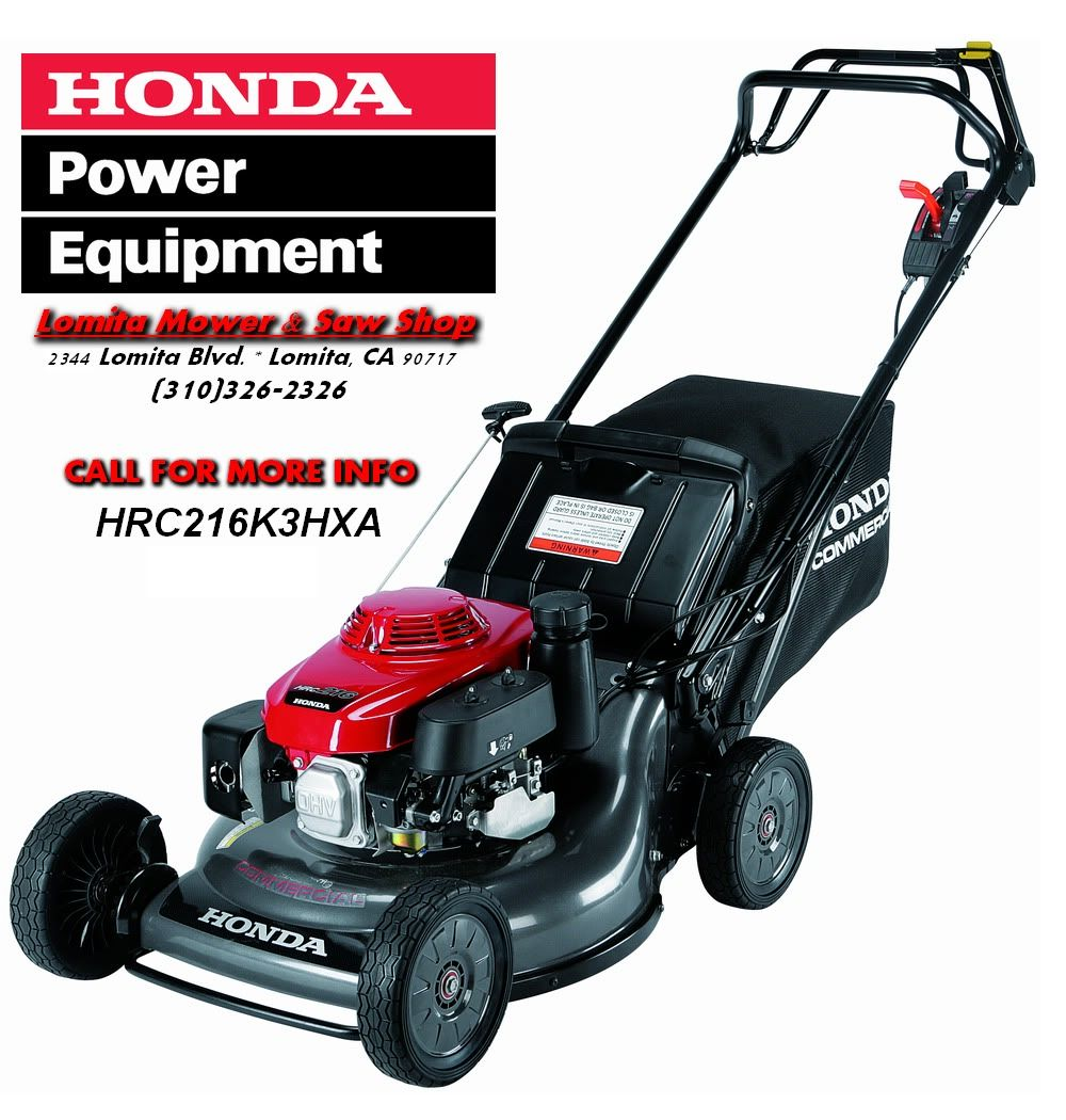Honda 21 Commercial Rotary Mower | mower lawn mowers rotary 21 mower  hrc216k3pda hrc216k3hxa honda rotary .