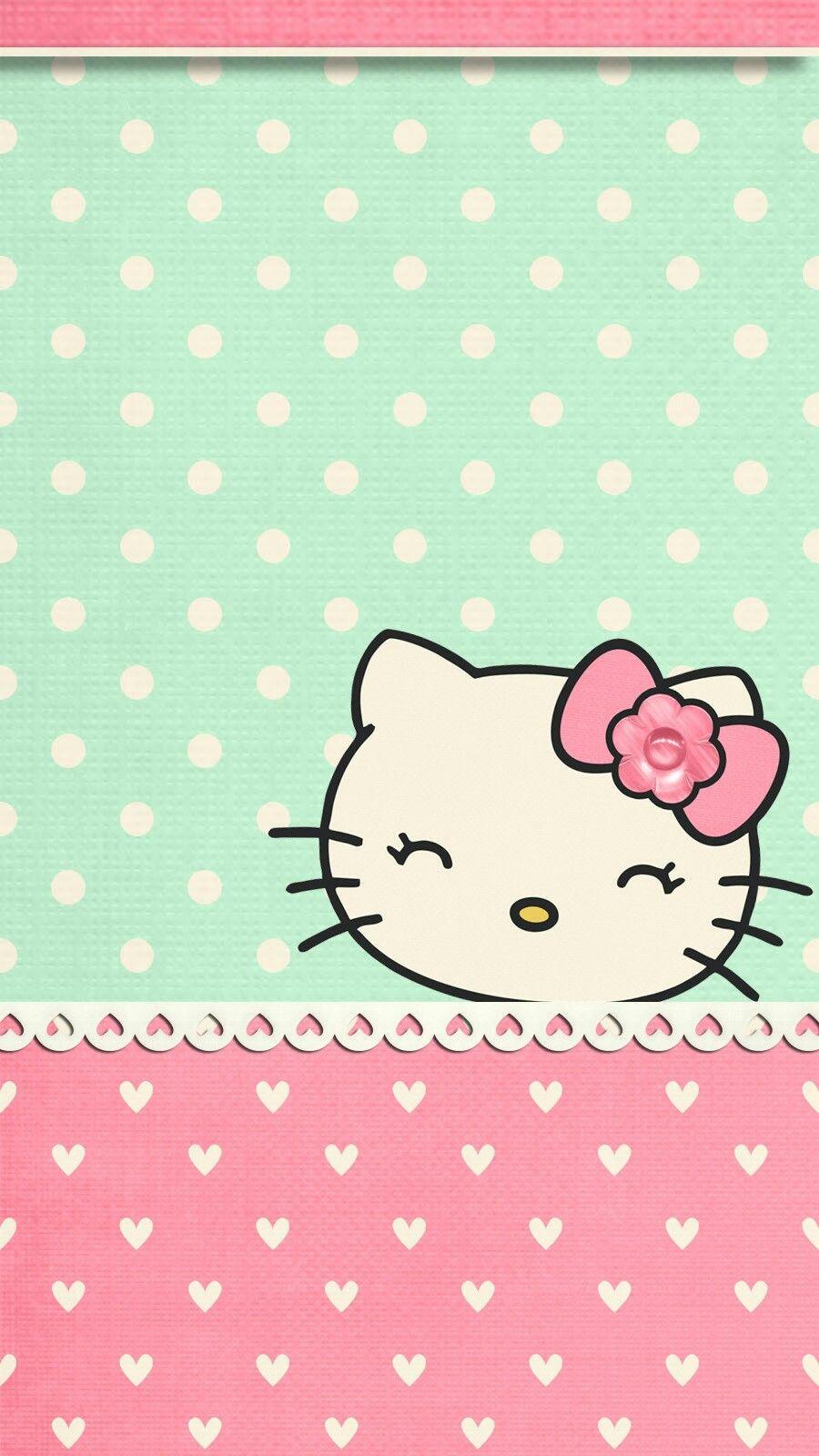 Spring Blossom04 Hello Kitty Wallpaper Hello Kitty Wallpaper Hd Hello Kitty Backgrounds