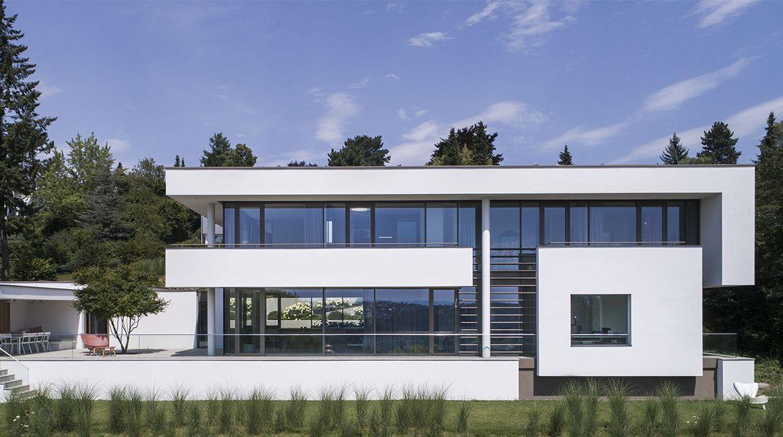Haus fmb esslingen deutschland architekten bda fuchs wacker haus fmb in 2019 - Fmb architekten ...