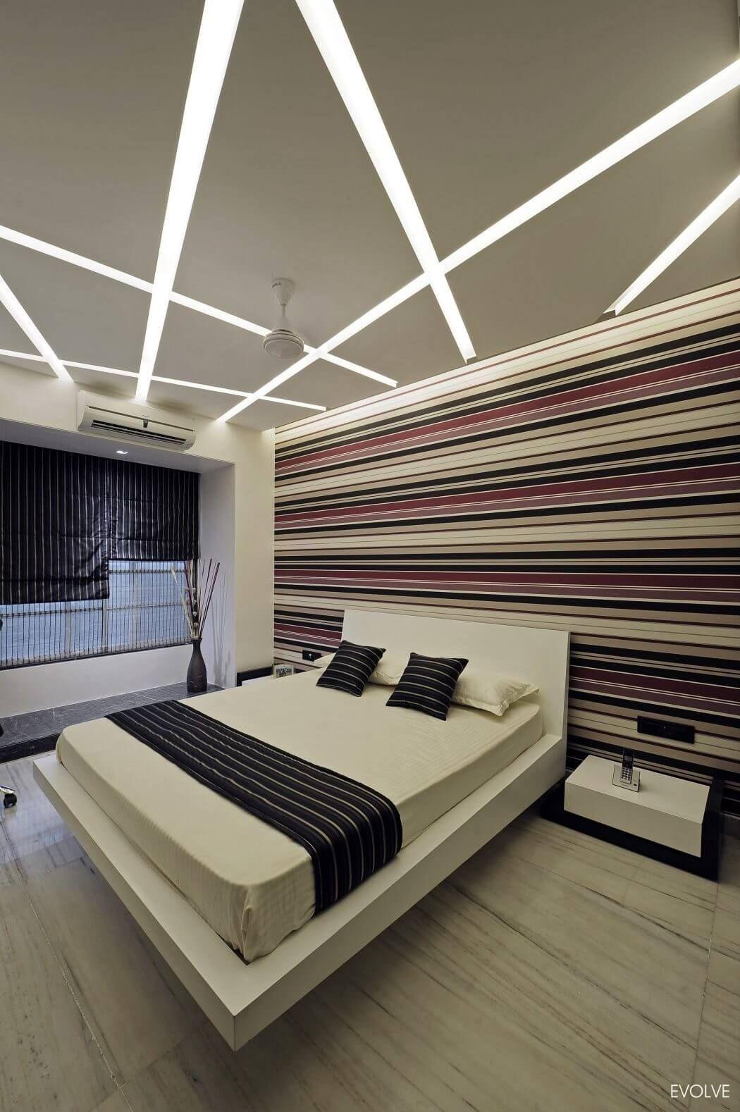 Pin by pilu sitapara on bed pinterest ceilings false - Plafones modernos ...