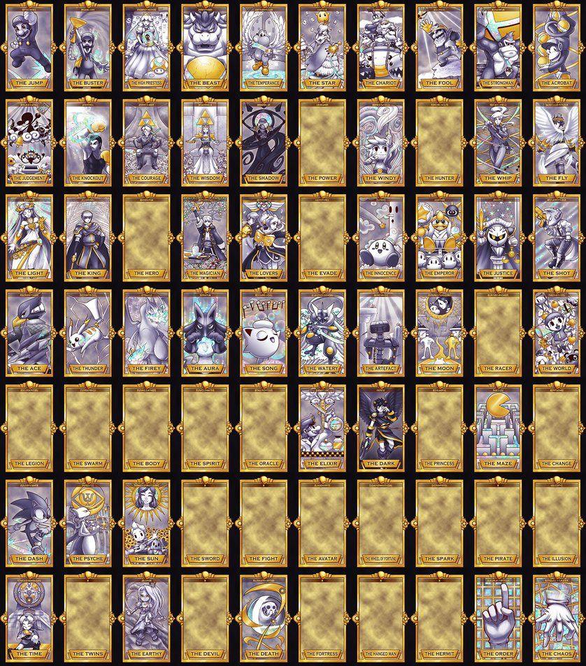 Super Smash Tarot Deck - Major Arcana by Quas-quas on DeviantArt