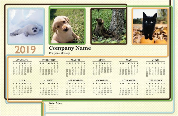 Poster Calendar Custom Posters Vistaprint Service Design