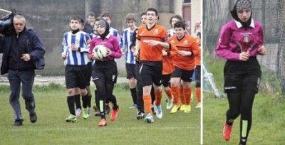 Italiana, musulmana, 16 años y arbitra con velo http://www.guiasdemujer.es/st/Deporte/Italiana-musulmana-16-anos-y-arbitra-con-velo-4091