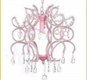Pink Crystal Chandelier Prisms