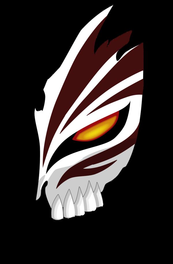 Hollow Ichigo Mask Photoshop by majindm24.deviantart.com on ...