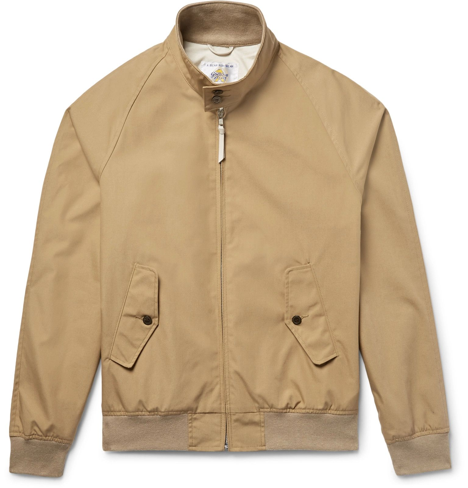 Coats and Jackets for Men | Designer Menswear. GOLDEN BEAR x Mr Porter Poplin  Bomber Jacket