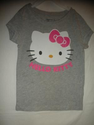GIRL'S HELLO KITTY TEE SIZE 4/5 BY GAP
