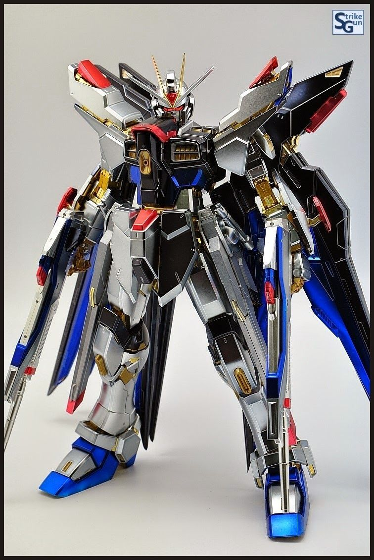 Gundam Guy Pg 1 60 Strike Freedom Gundam Extra Coating Finish Ver Gundam Gundam Mobile Suit Gundam Astray