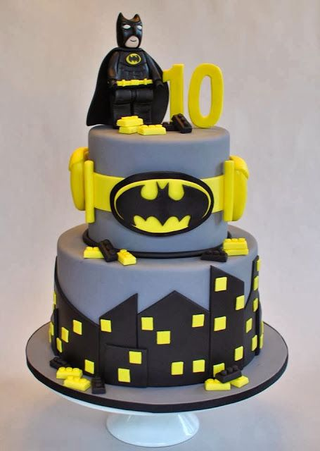 Incredible Batman Cakes For Your Next Batmanthemed Birthday - Lego batman birthday cake