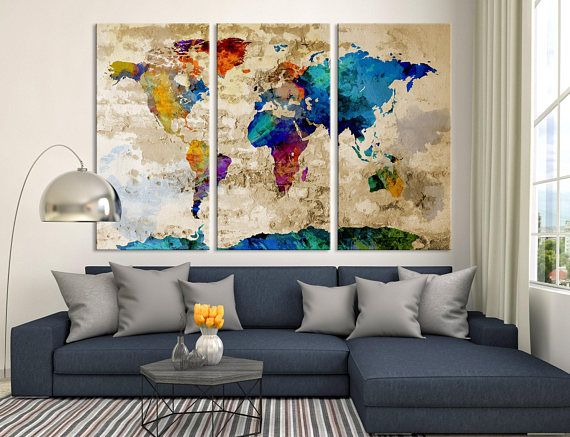 Rescue your blank walls with beautiful gallery wrapped canvas prints rescue your blank walls with beautiful gallery wrapped canvas prints photo to canvas prints are world map gumiabroncs Image collections
