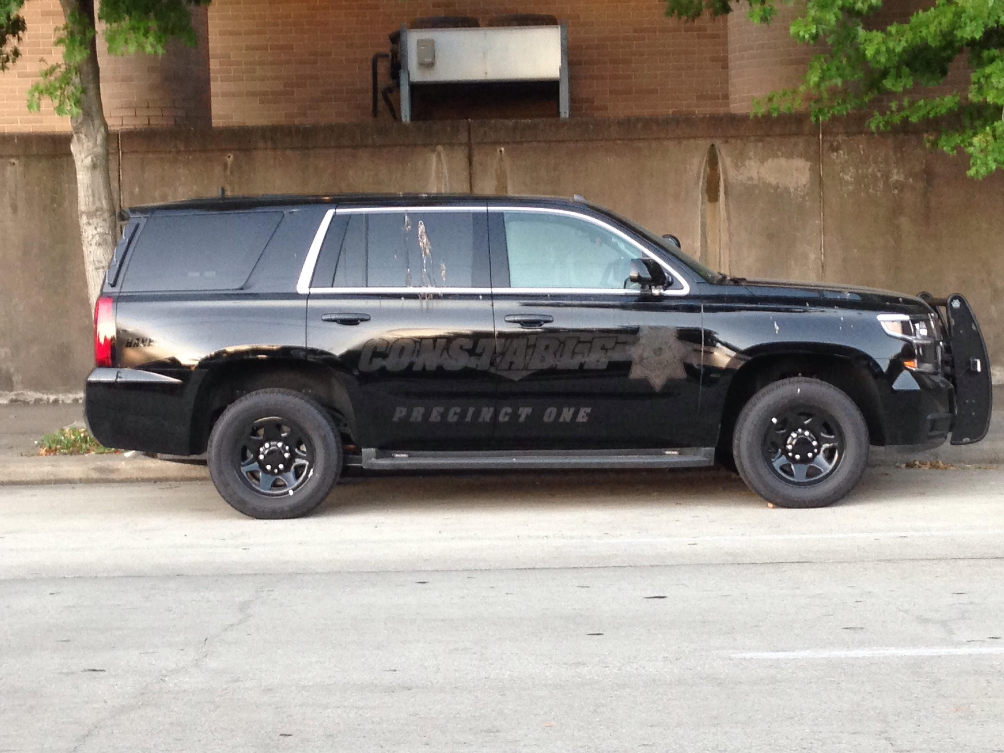Harris County Constable Precinct 1 Ghost Chevy Tahoe Texas