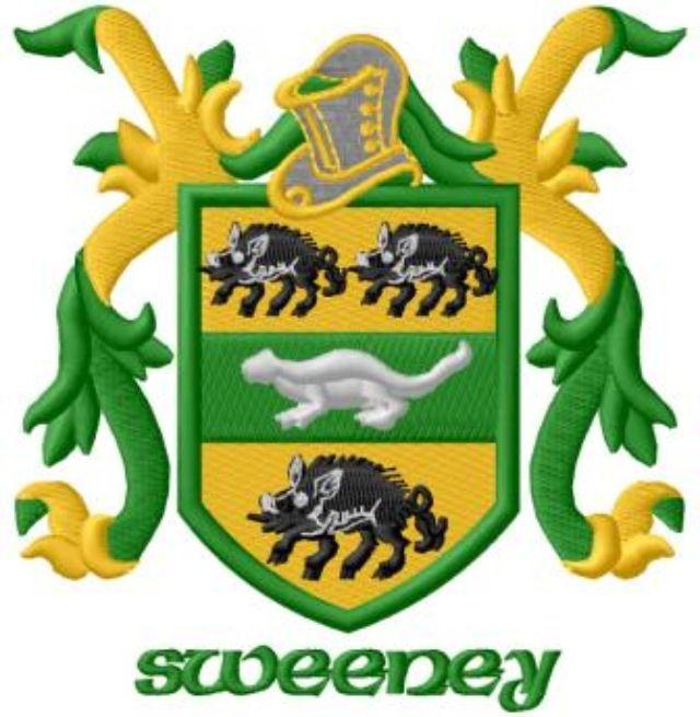 Sweeney family coat of arms irish pinterest arms and ancestry sweeney family coat of arms altavistaventures Images