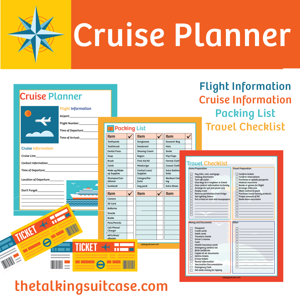 Free Printable Cruise Planner