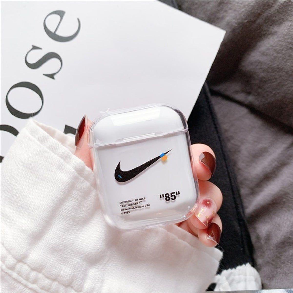 Off White Airpods 1 And 2 Case Nike En 2020 Fundas Para Ipod