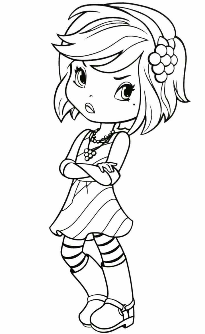 Strawberry Shortcake character | Kolorowanki | Pinterest ...
