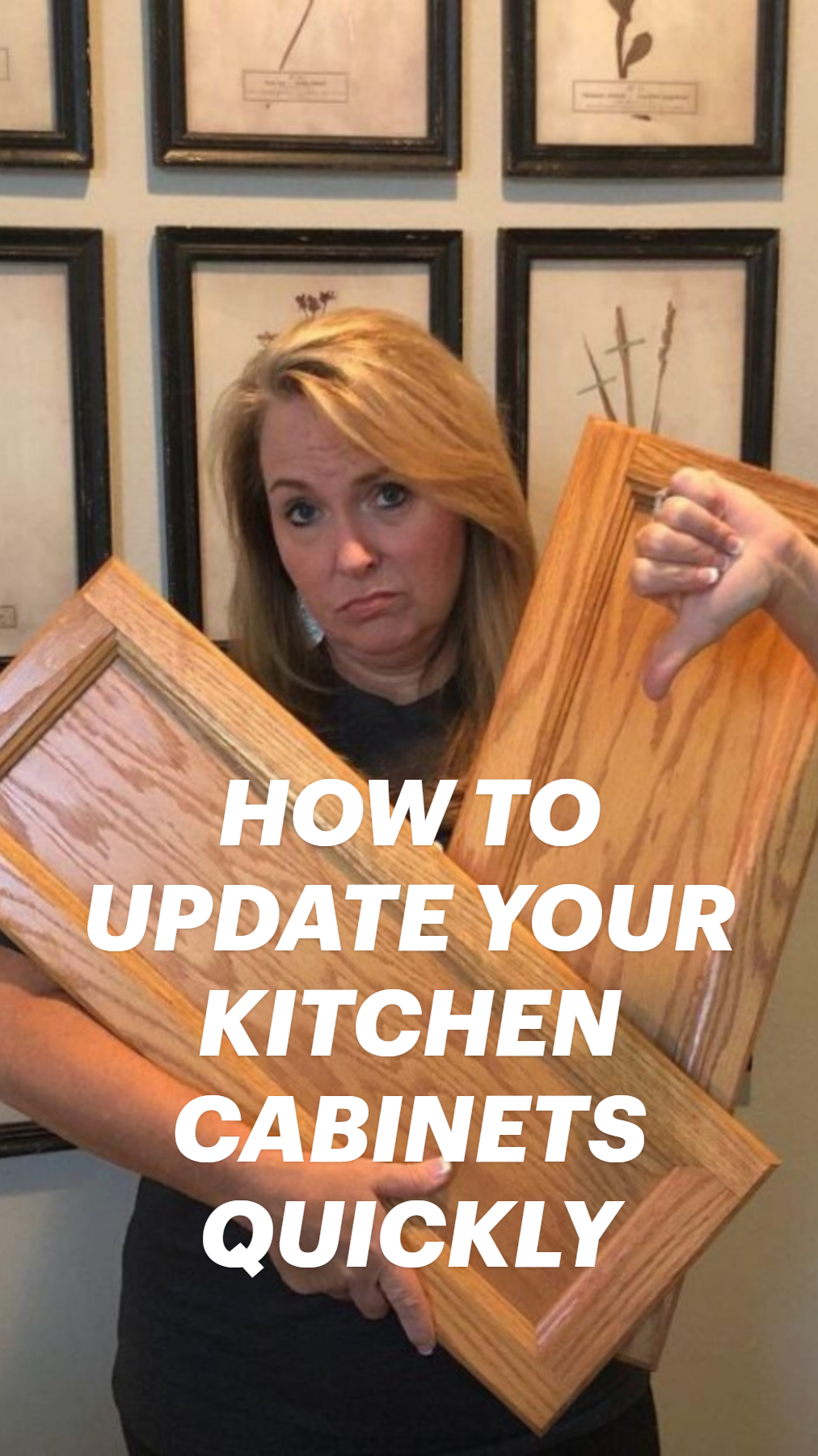 HOW TO UPDATE YOUR KITCHEN CABINETS QUICKLY