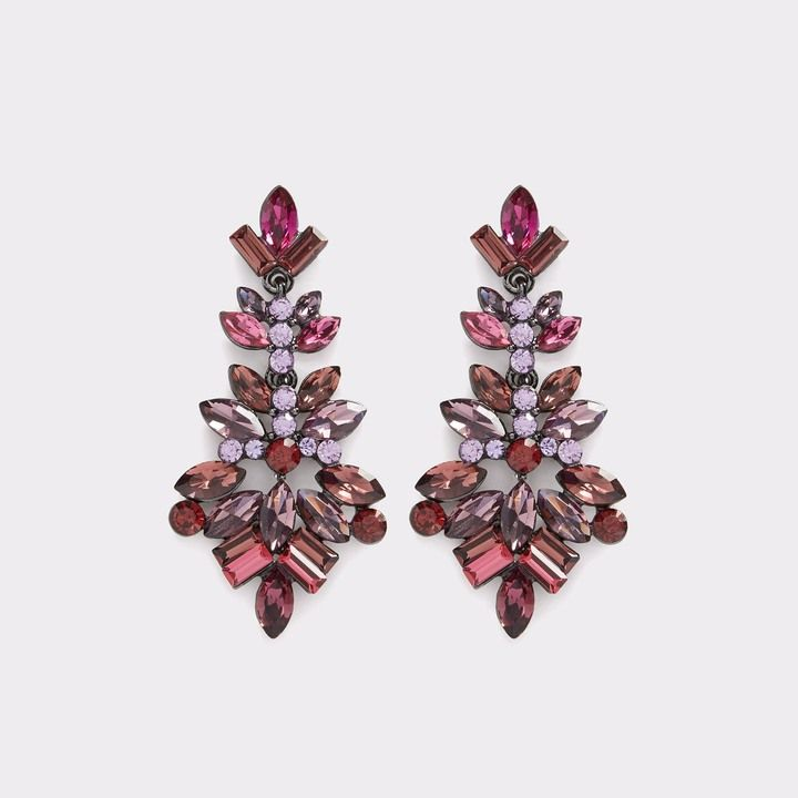 741e6c277 ALDO Lapetina Statement Earrings These embellished pointed chandelier  earrings catch the light at every turn.
