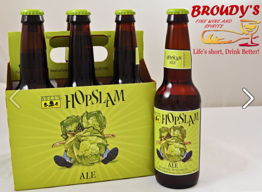 Bell's Hopslam Ale 6 pack  From Kalamazoo, Michigan  Ale