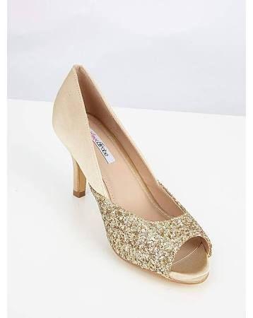 gold bridesmaid shoes uk - Google Search  676b2f0cfe