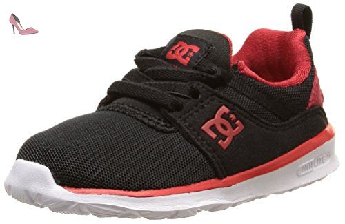 DC Shoes Heathrow T, Chaussures Bébé marche bébé garçon, Noir (Black ... ab7db3ec4bb8