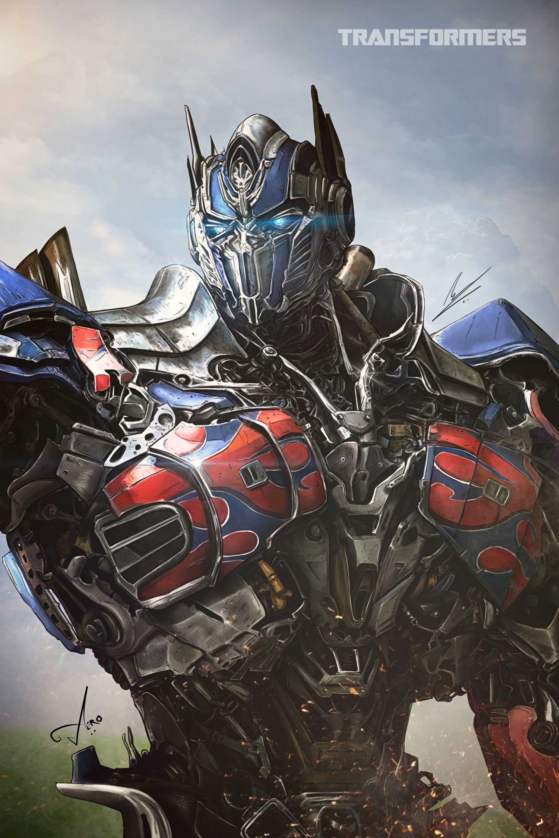 ArtStation - Optimus Prime Digital Painting, Saif Zulfiqar