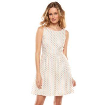 233c39955045 LC Lauren Conrad Heart Fit   Flare Dress - Women s