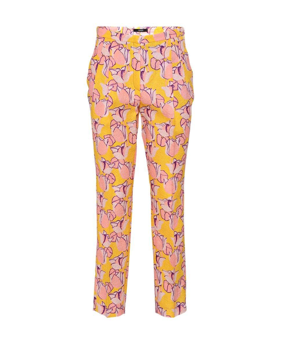 printed silk pants by Odeeh