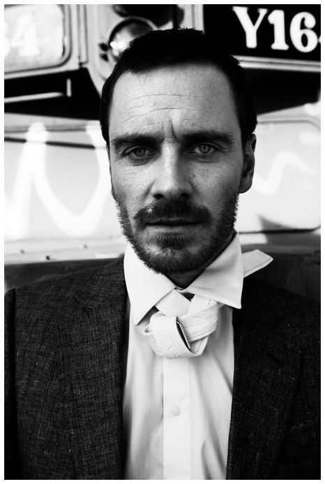 Michael Fassbender by Caitlin Cronenberg for L'uomo Vogue