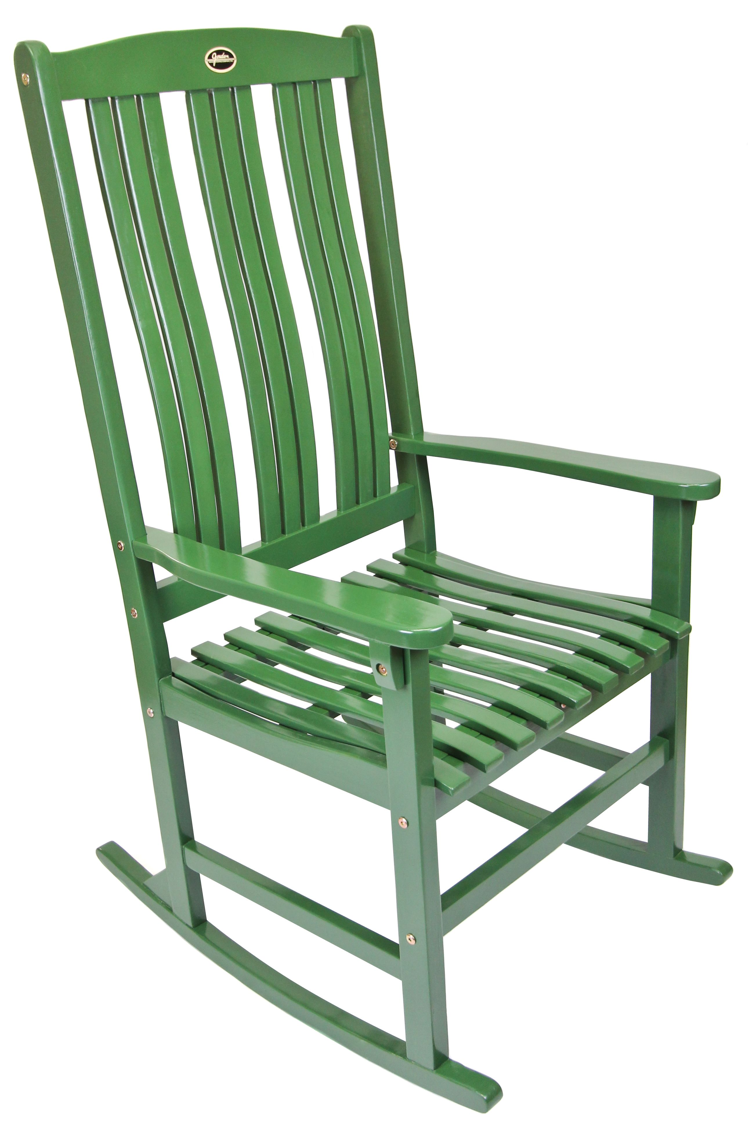 Green Southern Porch Rocking Chair from Jordan Manufacturing