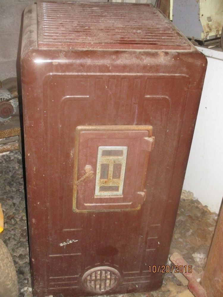 Siegler Enamel Furnace Company Oil Heater Antique Stove Oil Heater Oil Furnace