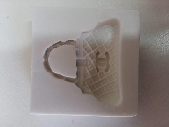 3305ad96f Molde de Silicone Bolsa Chanel | lojas | Pinterest